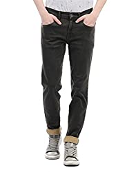 Monte Carlo Mens Straight Fit Jeans (2180870080DN-5-32_Brown)