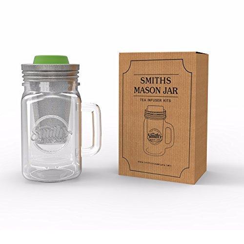 Cold Brew cafetera eléctrica y infusor de té con taza y tapa con orificio