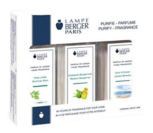 LAMPE BERGER Triopack - Frais/Fresh - 3 x 180 ml