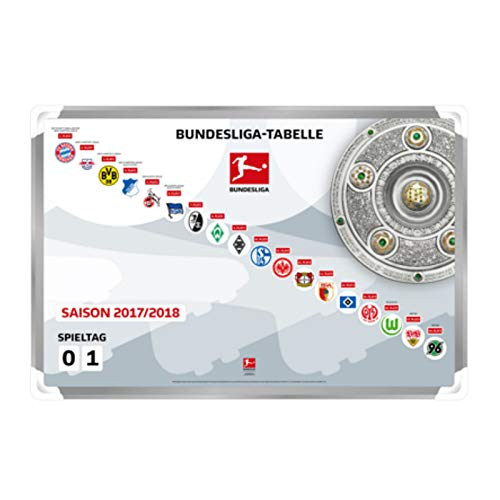 Am Ball Com Magnettabelle Bundesliga 2017/2018