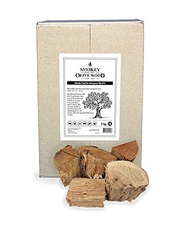5kg Steineichen-Holz für BBQ und Smoker, grobe Chunks 5 -