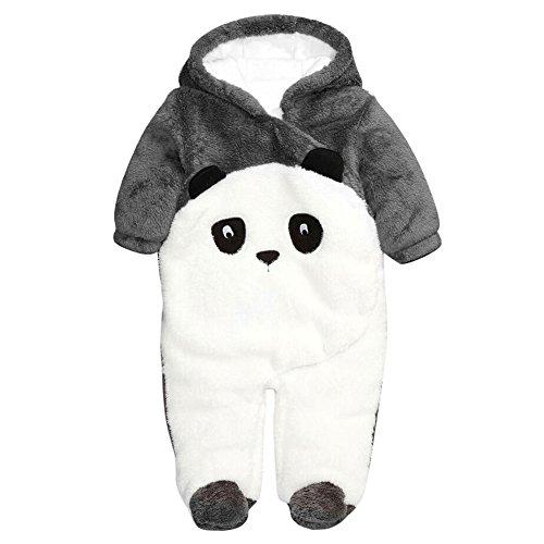53defd839d5ff Bébé Garçon Combinaison bebe hiver animal vetements Unisexe Toddler Enfants  Animaux costume 6-12 Mois