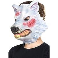 Máscara de lobo goma eva