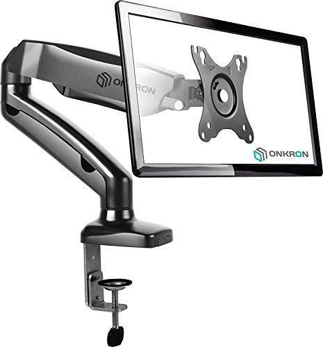 ONKRON G80 Support Moniteur LCD LED OLED De 17 A 27 Pouces Noir