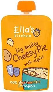 Ella's Kitchen Organic Puree, Cheesy Pie With Veggies, 130g (Pack o