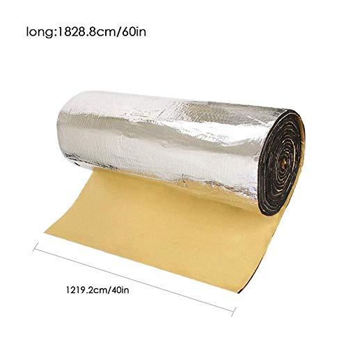 Preisvergleich Produktbild Katurn 150 X 100 cm Auto Schallschutzmatte Selbstklebende Schallschutzisolierung Matte für Lärmschutz Schalldämmung Kfz Schallschutz 5mm 1.55 qm