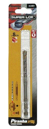 Piranha X53023, XJ/Steinbohrer-Bit, 8 mm Sechskantschaft Flöte (Dewalt Corded Drill)