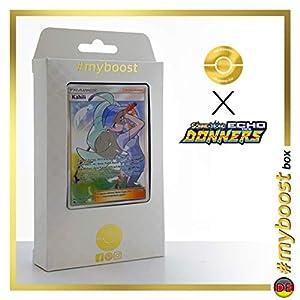 Kahili 210/214 Entrenadore Full Art - #myboost X Sonne & Mond 8 Echo Des Donners - Box de 10 Cartas Pokémon Alemán