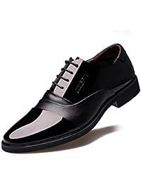 HYLM Zapatos De Los Trajes De Los Hombres / El Negocio Señaló El Cordón / Los Zapatos De la Boda , black , 41
