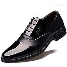 HYLM Zapatos De Los Trajes De Los Hombres / El Negocio Señaló El Cordón / Los Zapatos De la Boda , black , 40