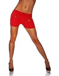 suchergebnis auf f r rote shorts damen bekleidung. Black Bedroom Furniture Sets. Home Design Ideas