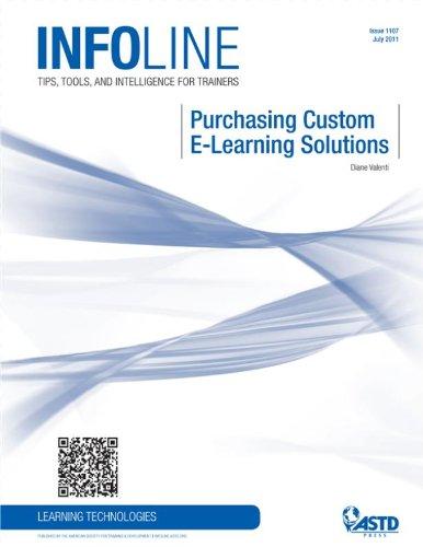 Purchasing Custom E-Learning Solutions (Infoline)