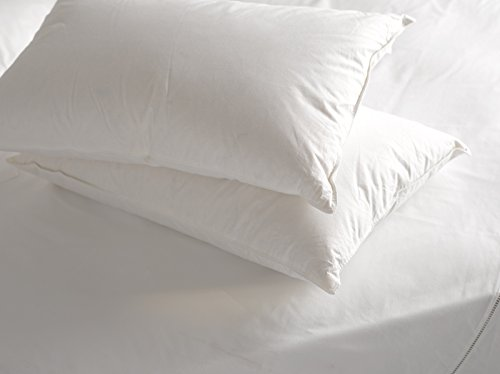 Extra Filled Bounce Back Hollowfibre Jumbo Bed Pillows Luxury and Hotel Quality 2 Pillows by Highliving ®