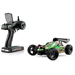 Ninco4RC - Spark Buggy XB16 2.4 GHz RTR 1:16, color verde (Ninco NH93050)