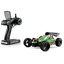 Ninco4RC - Spark Buggy XB16 2.4 GHz RTR 1:16, color verde (Ninco NH93050)