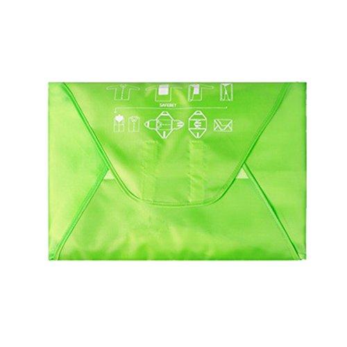 HilltopToCloud Hemdentasche Kleiderhülle knitterfreier Transport in Koffer Reisetasche oder Handgepäck mit Faltbrett Pack-it Garment Folder (Verpackung Knitterfrei)