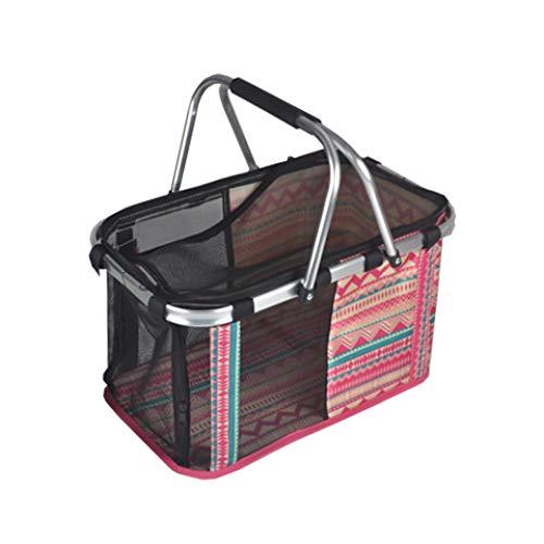 WENFF Tragbare Tiertasche Atmungsaktive Tiertasche Für Haustierträger-Außenbox (Puder Blau Grau Rot Streifen),Red