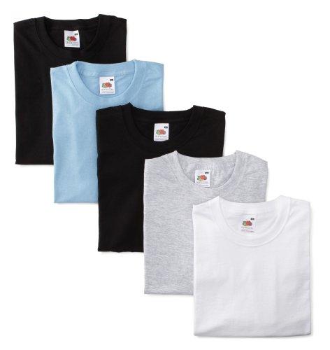 fruit-of-the-loom-01-1036-vxy-l-5-pack-valueweight-t-shirt-grau-hellblau-weiss-2-x-schwarz