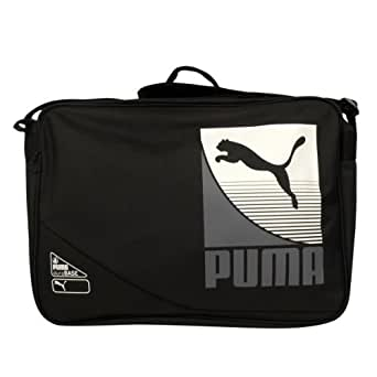 Puma Retro Shoulder Record Messenger Reporter Bag Laptop School Satchel