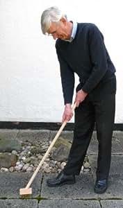 Brosse de désherbage AVEC Poignée. SUPPRIME les Mauvaises herbes