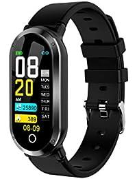 DZKQ Reloj Inteligentereloj Inteligente Reloj De Ritmo Cardíaco para Mujeres Monitor De Presión Arterial Rastreador De