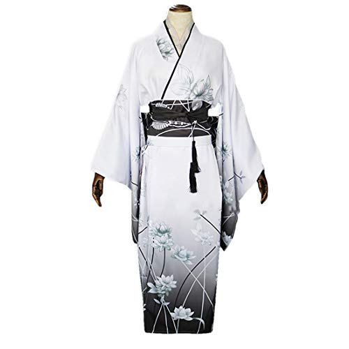 Kostüm Den Eine Tabelle Kopf Auf - YKJ Anime Summer Festival Kimono Yukata Maid Dress Machen kostüm Anime Cosplay kostüm,Clothing Full Set-L