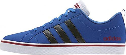 Adidas paix vs Chaussures Homme Royal Bleu/noir/rouge Bleu-Noir-Rouge