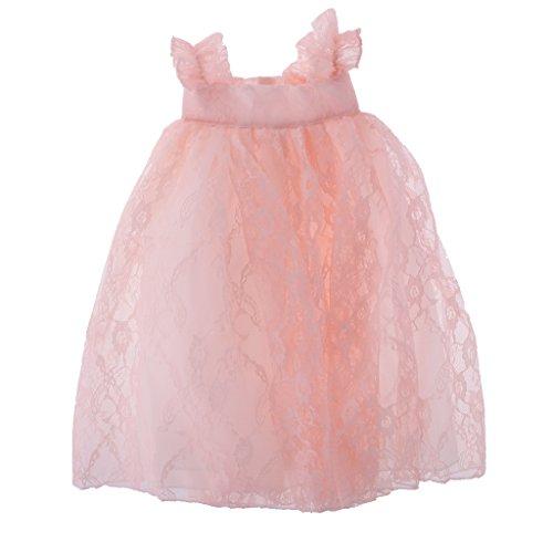 Sharplace 3pcs Spitze Prinzessin Puppenkleider Abendkleid Für 18 Zoll American Girl Mädchen Puppen, 3 Farben (Doll Dress Up Kostüm)