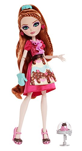 Ever After High Sugar Coated Holly O'Hair Doll Heart Shaped Server
