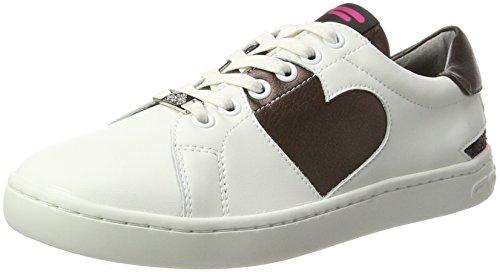 Fornarina Daily, Zapatillas para Mujer, Bianco (Bianco), 37 EU