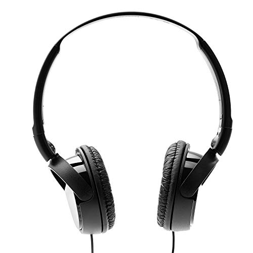 Sony MDR-ZX110 On-Ear Stereo Headphones (Black) Image 3