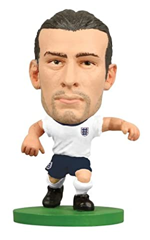 Soccerstarz Angleterre International Figurine Blister avec Andy Carroll en Angleterre S Home Kit