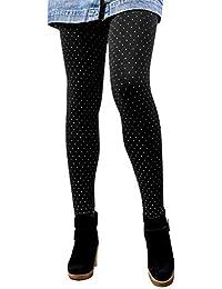GoVIA Libella Legging Pantalon Collant Thermique Femme avec intérieur en  Polaire en 7 Couleurs Extra Chaud 893bed0b8795