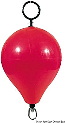 Osculati 33.602.02 - Gavitello CC3 rosso senza tirante (Buoy CC3 red 47cm no rod)