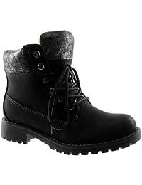 neuves pour femmes épais Bloque MI TALON HAUT LACET MOTARD COMBAT  plateformes Bottine cheville… EUR 28,79 - EUR 29,04 · Angkorly - Chaussure  Mode Bottine ... 51d1dee1186a