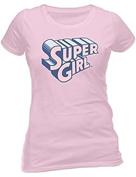 Beats & More - Camiseta - Cuello redondo - para mujer Rosa M