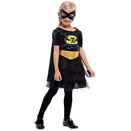 Kostümparty Kostüme Kostüm Kinder Batman Prinzessin Rock Maske Kinder Halloween Kostüm Cosplay Kostüm 4-12 Jahre Rollenspiel Kostüme (Größe : XL) (Cosplay Batman Kostüm Für Verkauf)