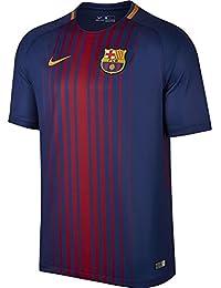9bd109fb04cbd 2017-2018 Barcelona Home Nike Football Shirt (No Sponsor)