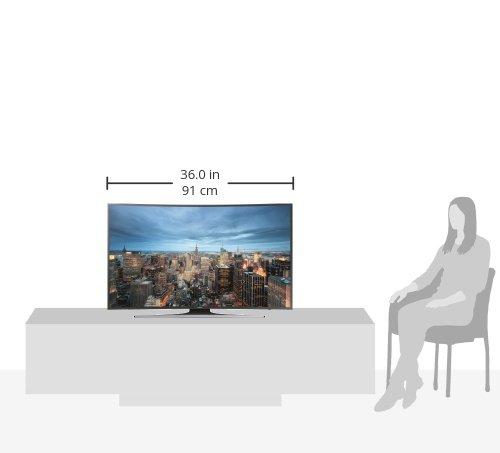 Samsung JU6550 101 cm (40 Zoll) 4k Fernseher - 8