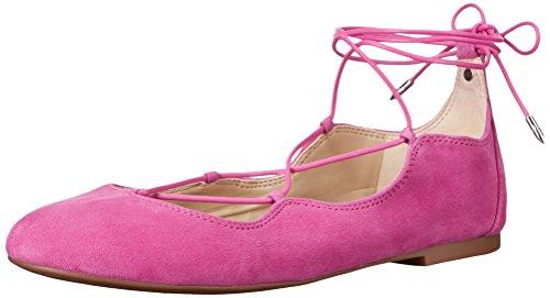 Sam Edelman Womens Flynt Ballet Flat Hot Pink Suede