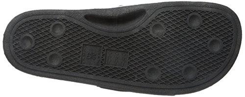 Diesel Herren A-Lohaa SA-Maral-Sandals Peeptoe Mehrfarbig (H1532 - Black/ White)