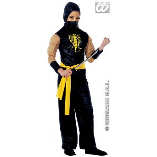 Ein Kostüm Macht Ninja - Macht Ninja - Kinder Kostüm - Small - 128cm