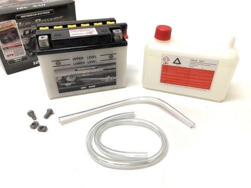 12V 4Ah Roller Batterie CB4L-B 4AH für TGB Bullet Tapo, Pegasus Sky R50X (inkl. 7,50€ Batteriepfand)
