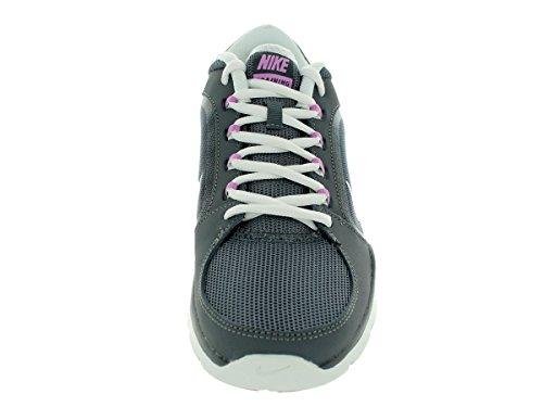 Nike Women's Flex Trainer 4 Dark Grey/Lt Mgnt/Smmt bianco/Smmt Training Shoe 6.5 Women US Dark Grey/Lt Mgnt/Smmt White/Smmt