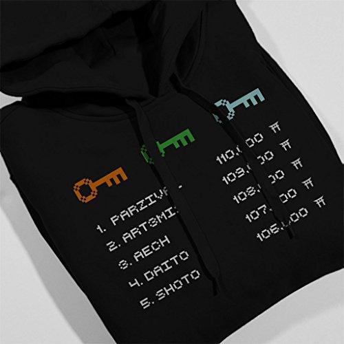 Leaderboard Ready Player One Men's Hooded Sweatshirt Black