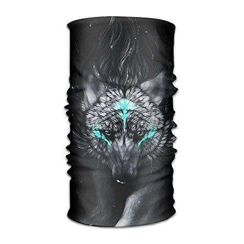 Preisvergleich Produktbild Miedhki Shadow Wolf Women Men Popular Headwear Bandanas - Multifunctional Headband Sports Magic Scarf for Outdoor Activity Unisex17