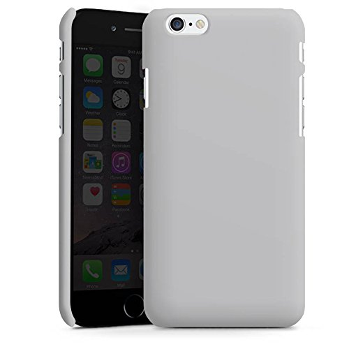 Apple iPhone X Silikon Hülle Case Schutzhülle Graphit Grau Grey Premium Case matt
