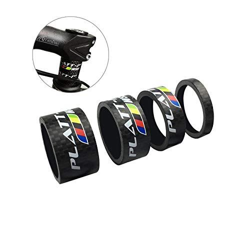 PLATT Fahrrad Ahead Vorbau Spacer Karbon MTB Rennrad Distanzscheiben Headset Spacer 1/8