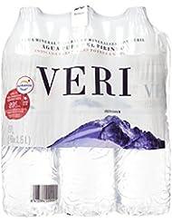 Veri Agua Mineral Natural de Mineralización Débil - Pack de 6 x 1,5 l