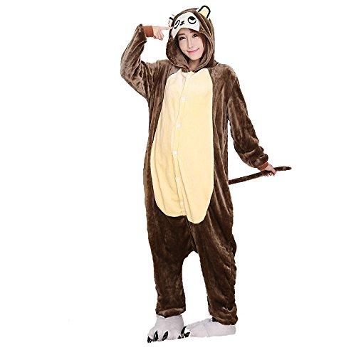 fe Schlafanzug Jumpsuit Pyjamas Cosplay Party Siamesische Kleidung Set M (Clown Anzug Für Verkauf)